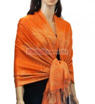 Phenix Tail Light Shawls Orange