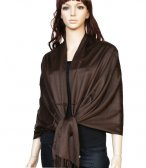 Super Solid Pashmina Chocolate