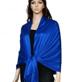 Super Solid Pashmina Royal Blue